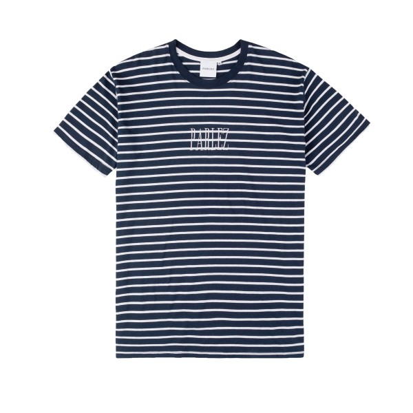 Parlez Edition Stripe T-Shirt (Navy)