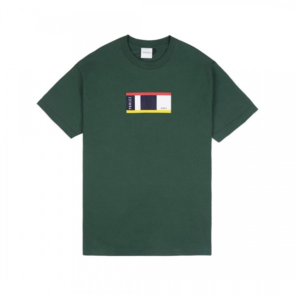 Parlez Block T-Shirt (Forest)