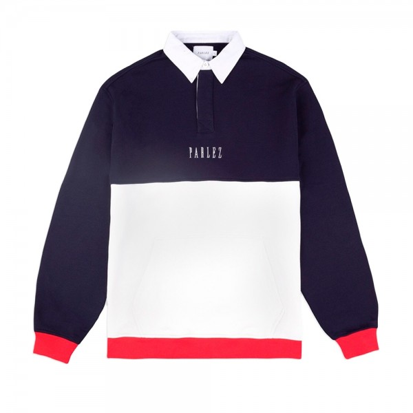 Parlez Purser Rugby Shirt (Navy)