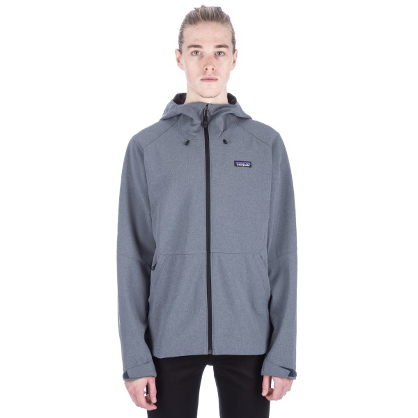 Patagonia Adze Hooded Jacket (Smolder Blue)