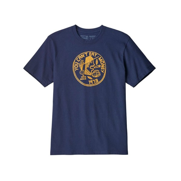 Patagonia Cant Eat Money Responsibili-Tee T-Shirt (Classic Navy)