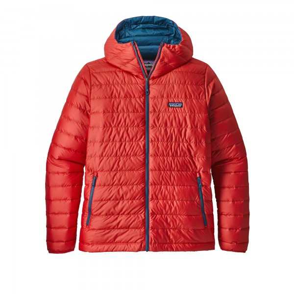 Patagonia Down Sweater Hoody (Fire)