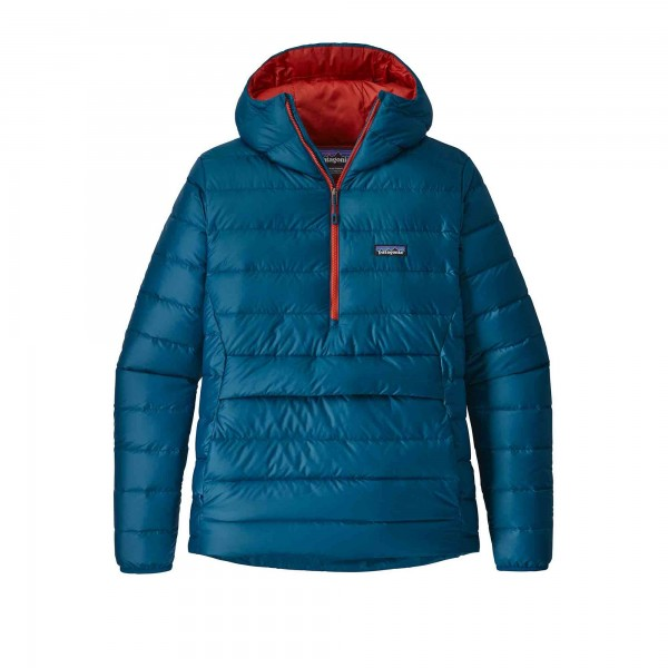 Patagonia Down Sweater Pullover Hoody (Big Sur Blue)