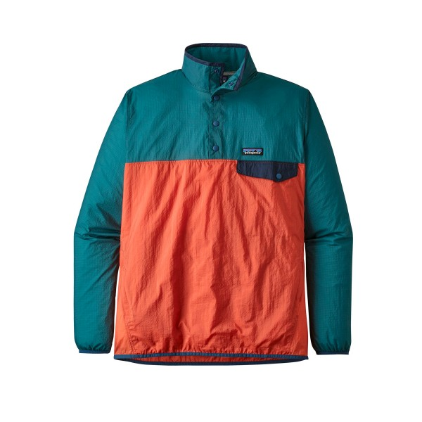 Patagonia Houdini Snap-T Pullover Jacket (Sunset Orange)