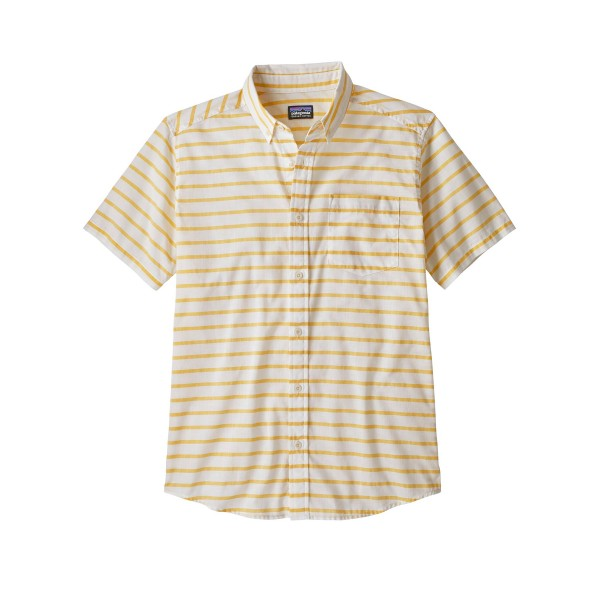 Patagonia Lightweight Bluffside Shirt (Terrain Stripe: Surfboard Yellow)