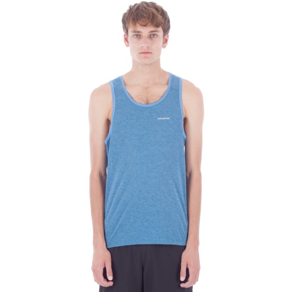 Patagonia Nine Trails Singlet (Big Sur Blue)