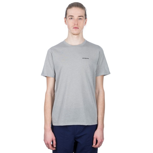 Patagonia Nine Trails T-Shirt (Feather Grey)