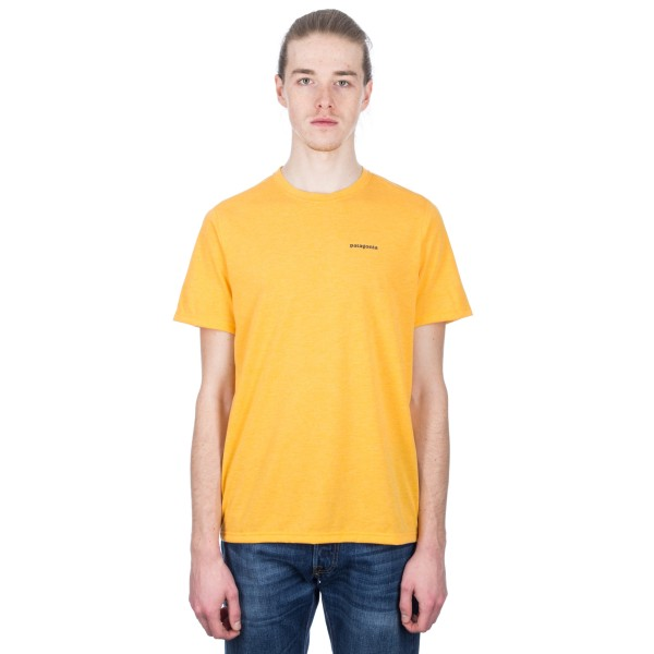 Patagonia Nine Trails T-Shirt (Rugby Yellow)