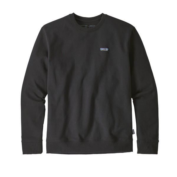 Patagonia P-6 Label Uprisal Crew Neck Sweatshirt (Black)