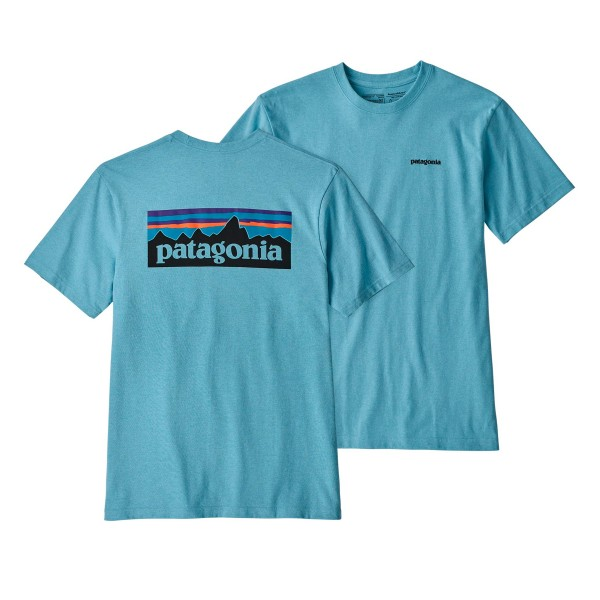 Patagonia P-6 Logo Responsibili-Tee T-Shirt (Break Up Blue)