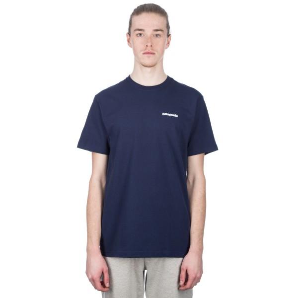 Patagonia P-6 Logo Responsibili-Tee T-Shirt (Classic Navy)