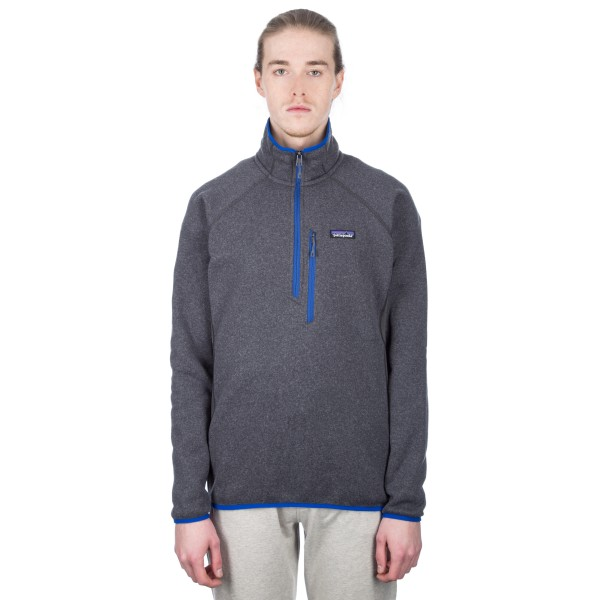 Patagonia Performance Better Sweater 1/4 Zip Fleece (Forge Grey)