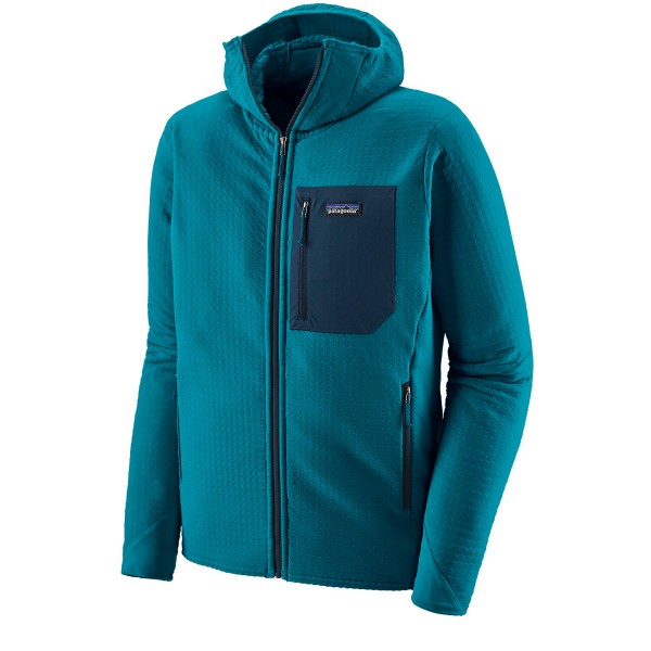Patagonia R2 Techface Hooded Jacket (Balkan Blue)