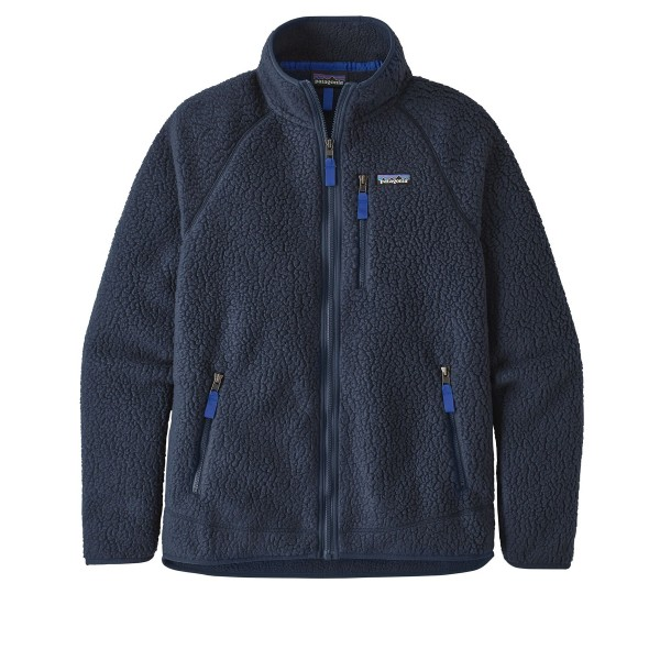 Patagonia Retro Pile Fleece Jacket (New Navy)