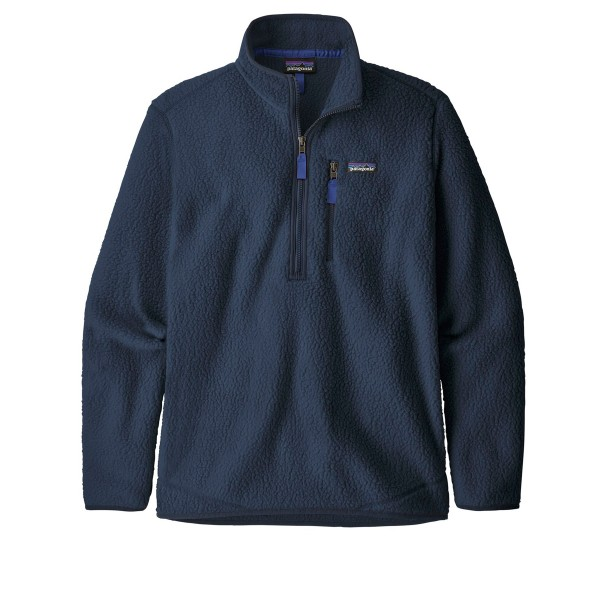 Patagonia Retro Pile Fleece Pullover (New Navy)