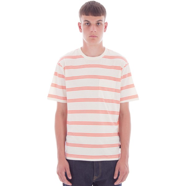 Patagonia Squeaky Clean Pocket T-Shirt (Branch Creek: Toasted White)