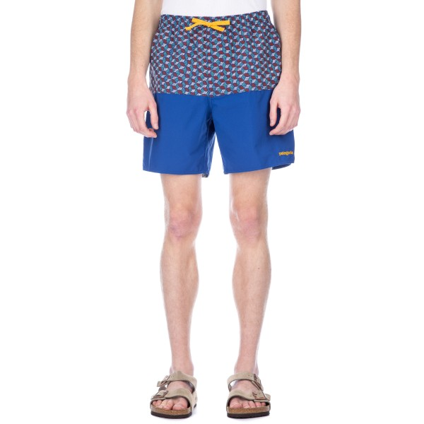 Patagonia Stretch Wavefarer Volley Shorts (Superior Blue)