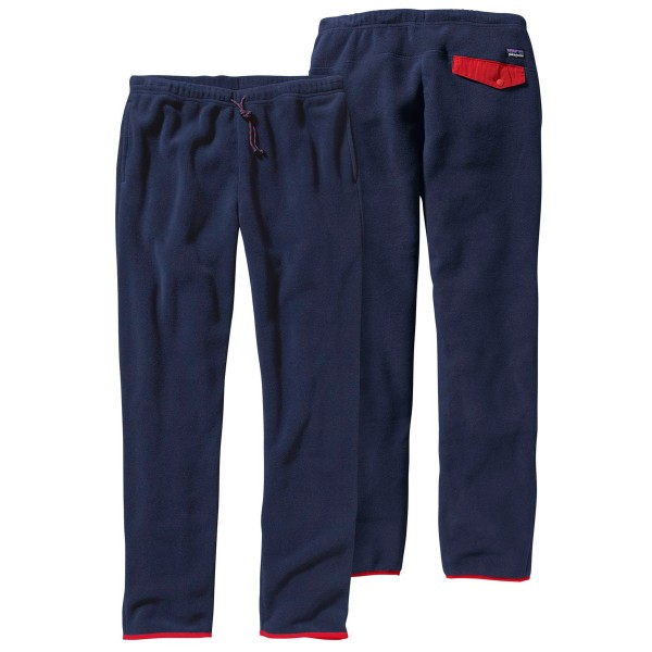 Patagonia Synchilla Snap-T Pant (Navy Blue w/Classic Red)