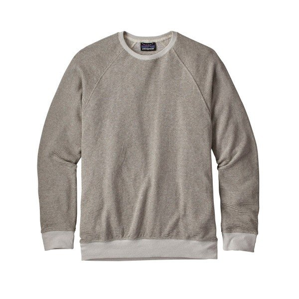 Patagonia Trail Harbor Crew Neck Sweatshirt (Long Plains: Dyno White)