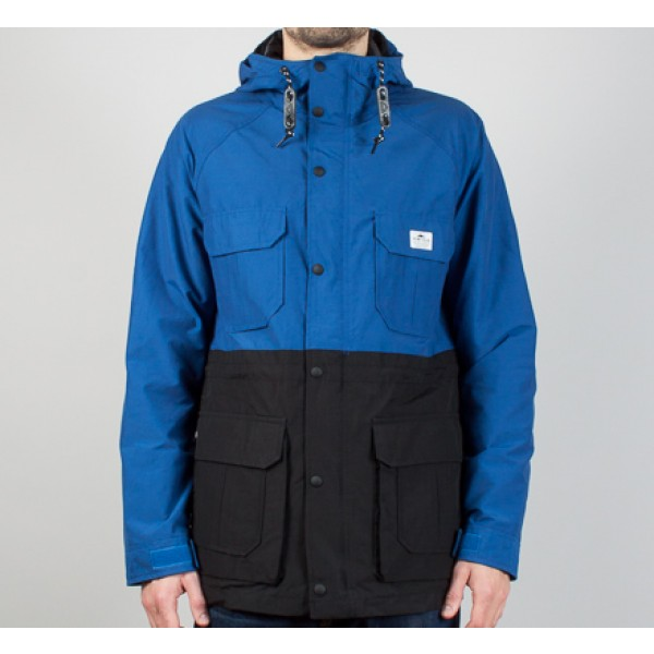 Penfield 2 Tone Kasson Jacket (Cobalt/Black)