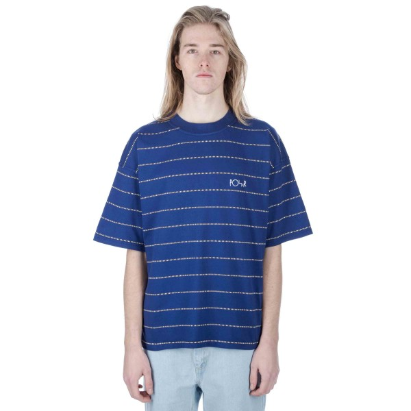 Polar Checkered Surf T-Shirt (Blue)