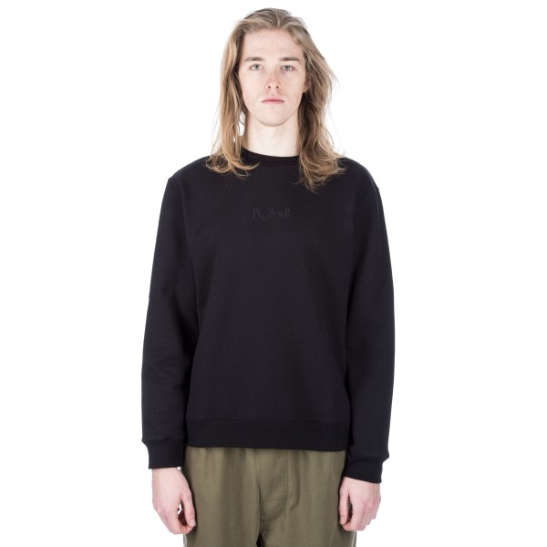 Polar Heavyweight Default Crew Neck Sweatshirt (Black)