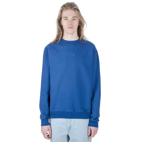 Polar Heavyweight Default Crew Neck Sweatshirt (Indigo Blue)