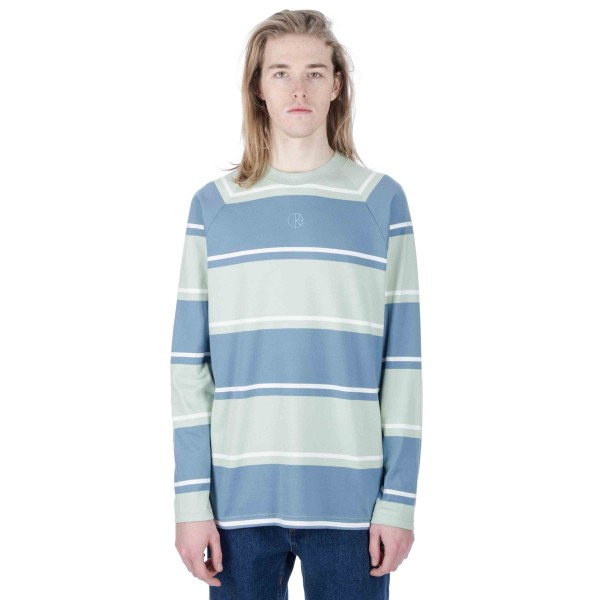 Polar Kurt Long Sleeve T-Shirt (Captain's Blue/Frosty Green)