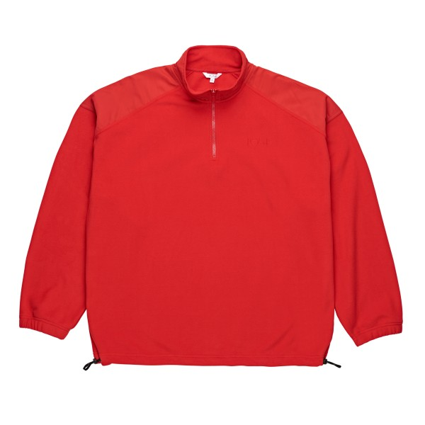 Polar Skate Co. Lightweight Fleece Pullover (Red)