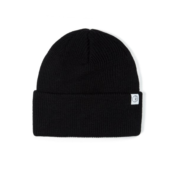 Polar Merino Wool Beanie (Black)