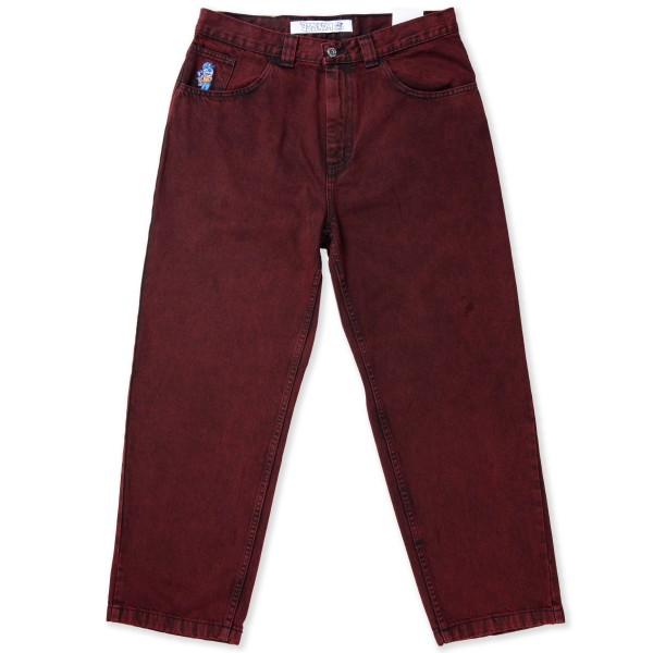 Polar Skate Co. '93 Denim Jeans (Red Black)