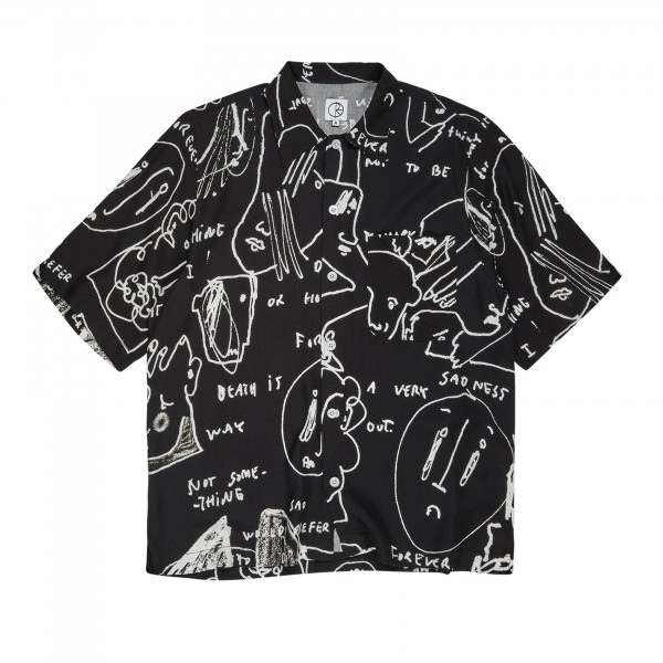 Polar Skate Co. Alv Art Shirt (Black)