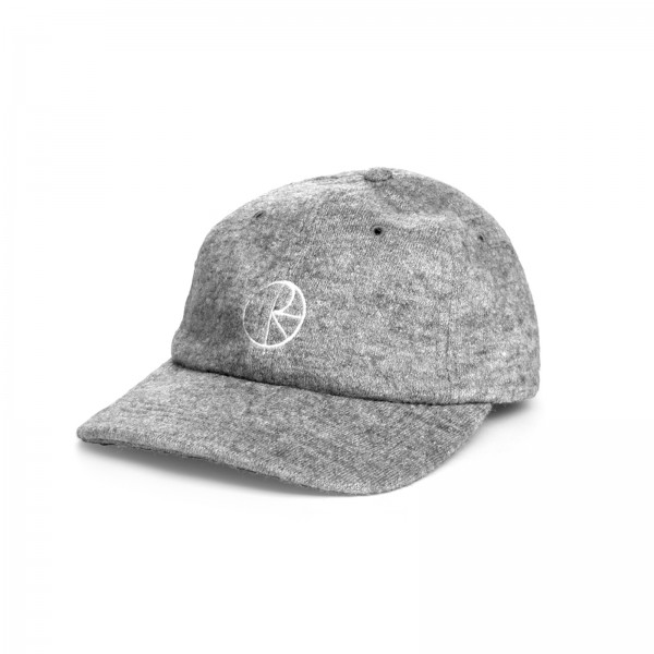 Polar Skate Co. Boiled Wool Cap (Grey)