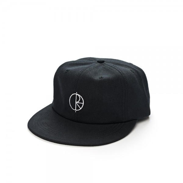 Polar Skate Co. Canvas Cap (Black)