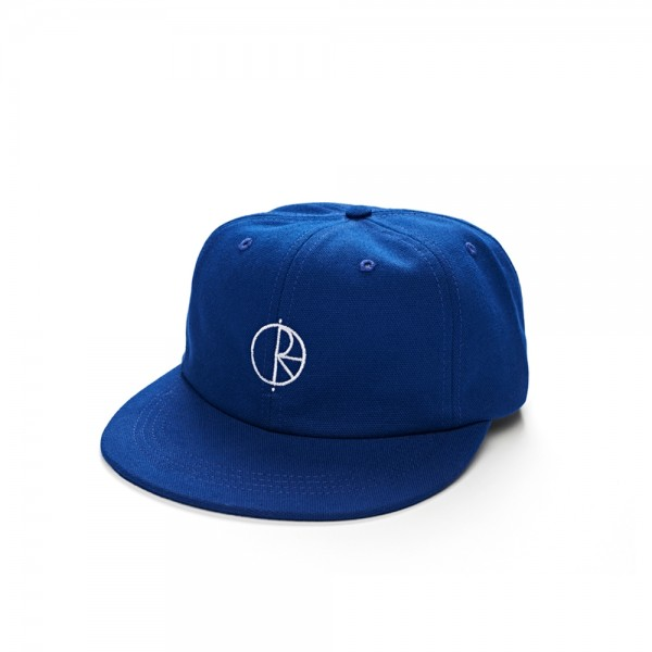Polar Skate Co. Canvas Cap (Royal Blue)