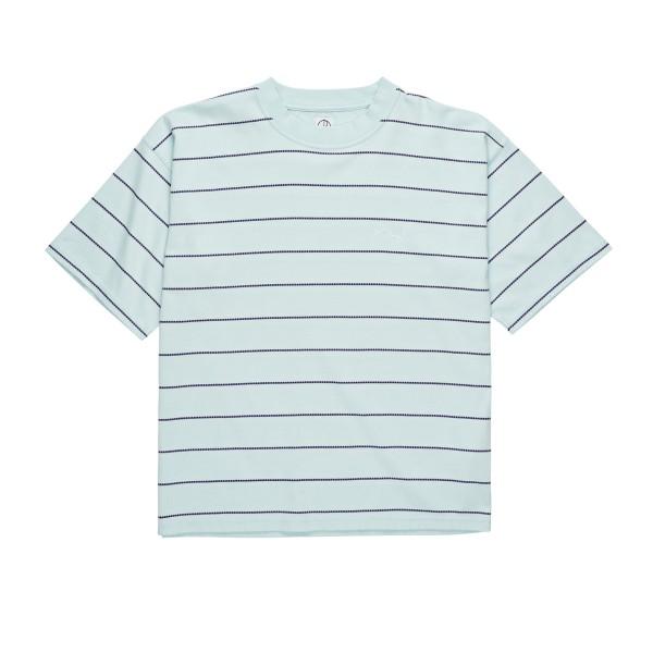 Polar Skate Co. Checkered Surf T-Shirt (Ice Blue)