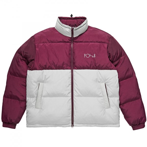 Polar Skate Co. Combo Puffer (Purple/Ice Grey)