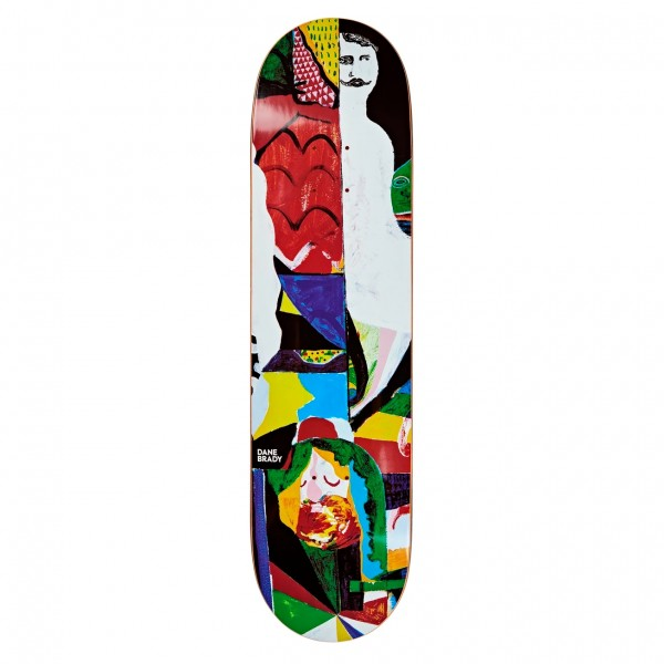 Polar Skate Co. Dane Brady Memory Palace Skateboard Deck 8.125""