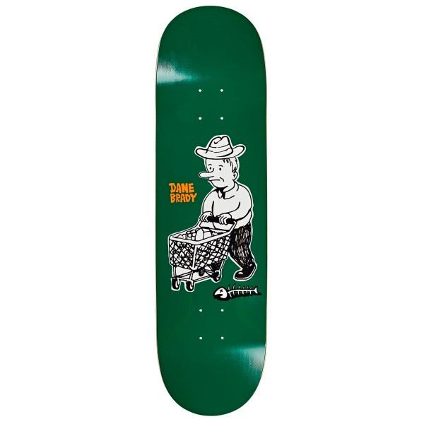 "Polar Skate Co. Dane Brady Shopping Spree Skateboard Deck 8.5"" (Slick)"