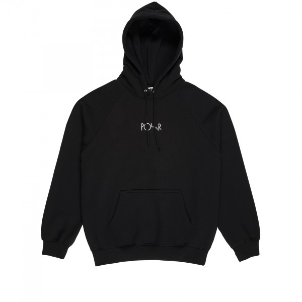 Polar Skate Co. Default Pullover Hooded Sweatshirt (Black)