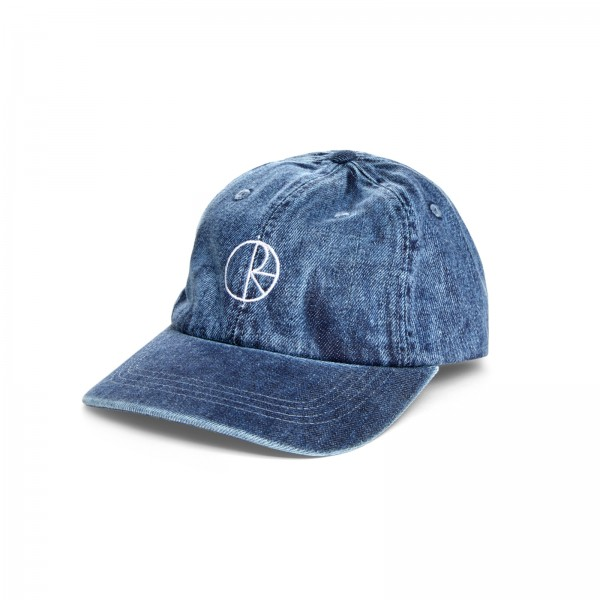 Polar Skate Co. Denim Cap (Blue)