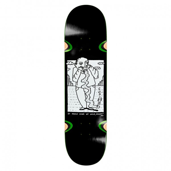 "Polar Skate Co. Kind Of Nice Skateboard Deck 8.25"" (Black)"