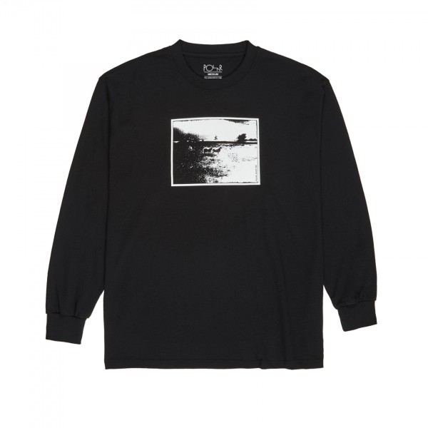 Polar Skate Co. Lost Long Sleeve T-Shirt (Black)