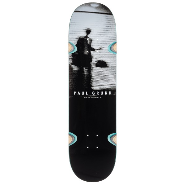 "Polar Skate Co. Paul Grund Man in Rain Skateboard Deck 8.375"" (Wheel Wells)"