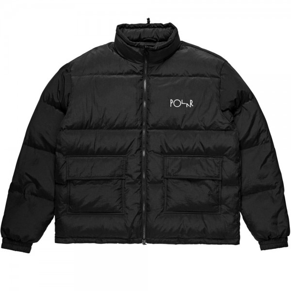 Polar Skate Co. Pocket Puffer (Black/White)