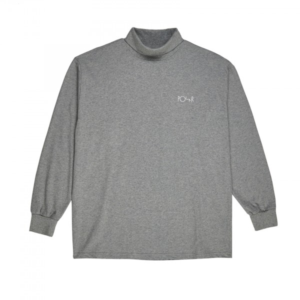Polar Skate Co. Script Turtleneck (Heather Grey)