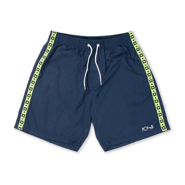 Polar Skate Co. Square Stripe City Swim Shorts (Navy)