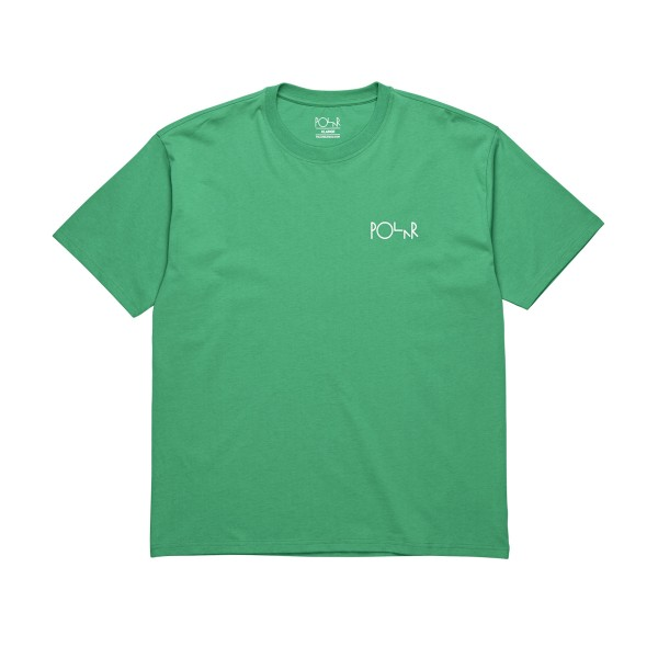 Polar Skate Co. Stroke Logo T-Shirt (Green)
