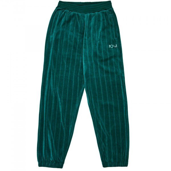 Polar Skate Co. Velour Sweatpants (Dark Green)
