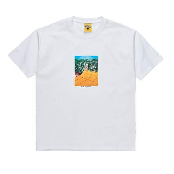 Polar Skate Co. x Iggy NYC Boys on a Ramp T-Shirt (White)